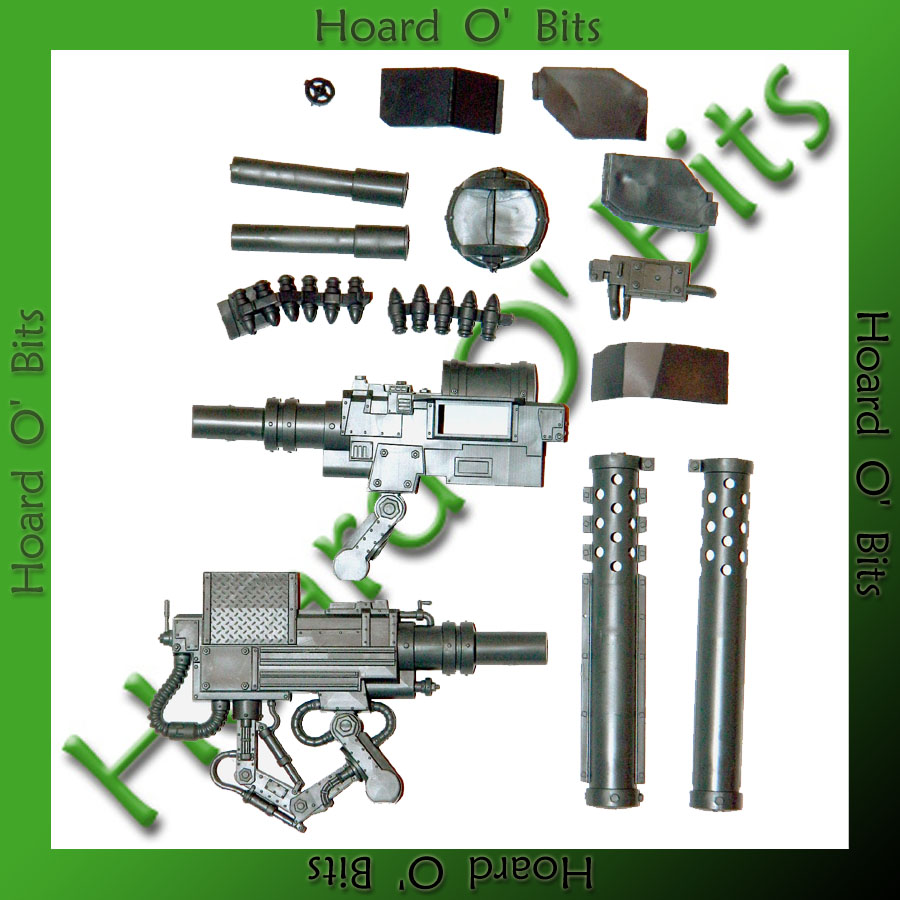 Warhammer Orks Storm Boys Holstered Weapons and Grenades Bits BIN47